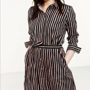 Anthropologie Marimekko Stripe Trina Dress Piccolo